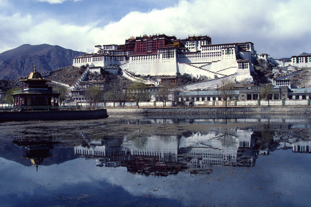 Tibet-Lhassa-Le Potala