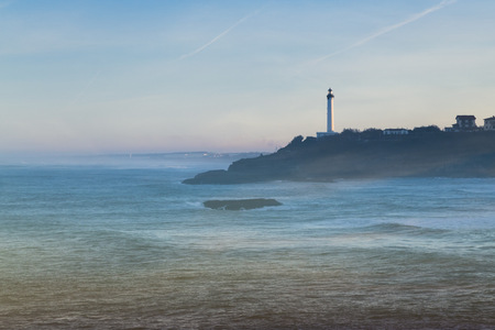 Biarritz : vue sur le phare