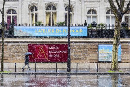 neige, Paris, Jacquemart André