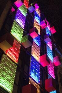 nuit, lumières, couleurs