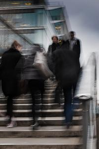 Architecture, escalier, photo de rue