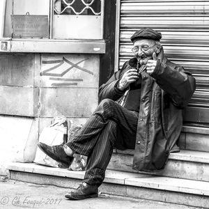 photo de rue, Street Photography, Noir et Blanc