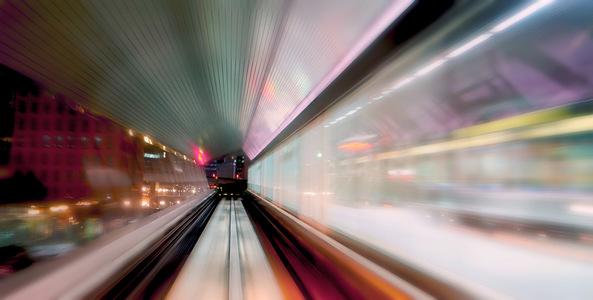 métro aérien, tokyo, japon