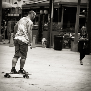 Los Angeles, Venice, skateboard