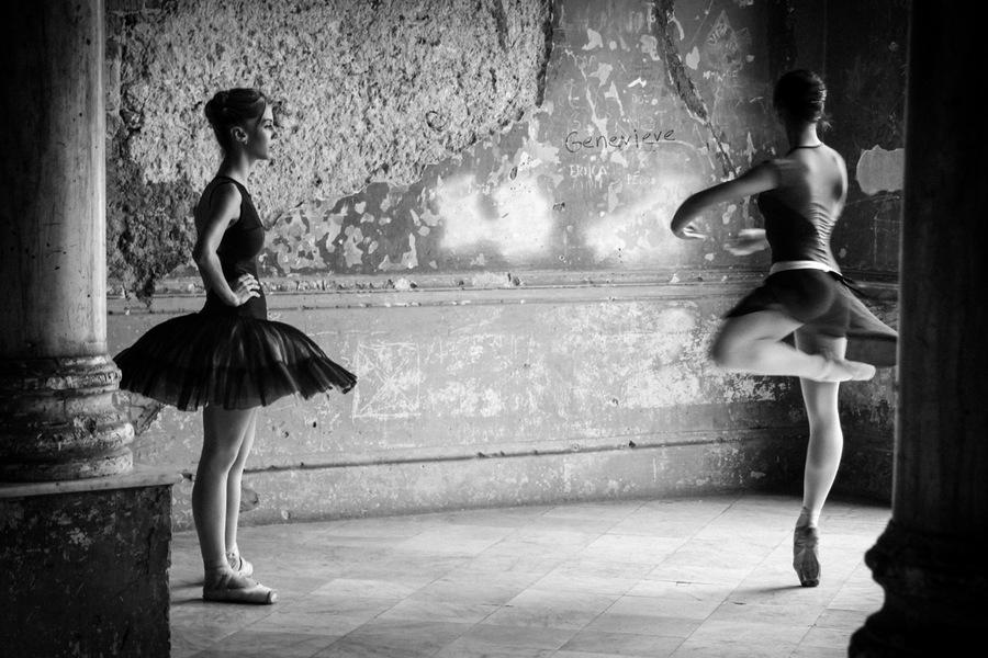 Danse, danseuse, Cuba, theatre, ruines