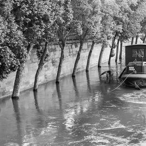 inondation, seine, Paris