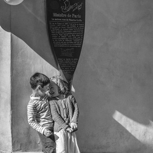 Street Photography, Noir et Blanc, Enfant, Love, People
