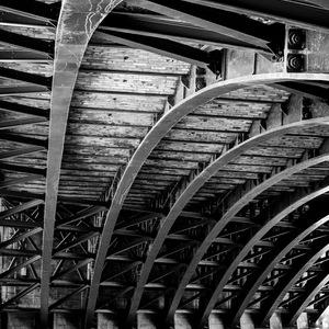 Paris, quais, seine, Noir et Blanc, pont