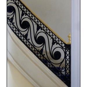montéee escalier