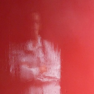 Dans un reflet, une silhouette...