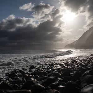 mer, Montagne, lumière