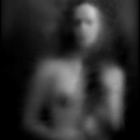 Autoportrait, Noir et Blanc, encre