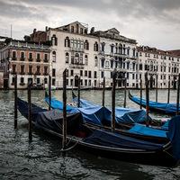 Venise,gondole,Italie