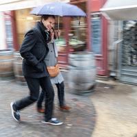 Un petit coin de parapluie....