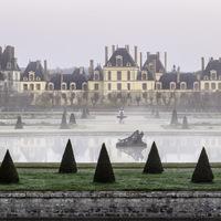 Lever de Soleil au château de Fontainebleau