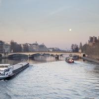 péniches, Paris