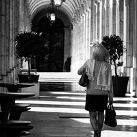 Working girl in Lisbon