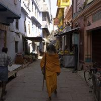Dans les rues de Varanasis