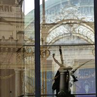 reflet, ange, Petit Palais, L'ange du Petit Palais