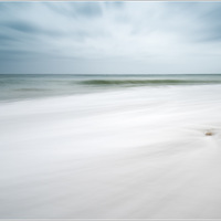 abstrait, bord de mer, Pause longue