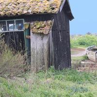 Oleron, cabane, barque