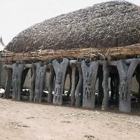 Abri à palabres dogon (Mali)