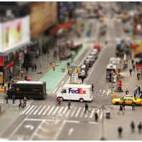 New York; tiltshift