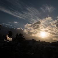 coucher de soleil, sunset