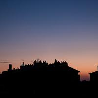 Vincennes, contre-jour, ombre chinoise, fenetre toiture